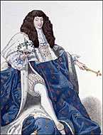 King Louis XIV [courtesy Library and Archives Canada