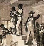 Slave auctioning