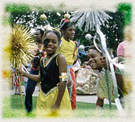Children participating in Caribana (courtesy Archives of Ontario)