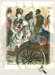 Negresses Selling Mayflowers in the Marketplace (engraving by W.O. Carlisle, courtesy Nova Scotia Museum of Cultural History)